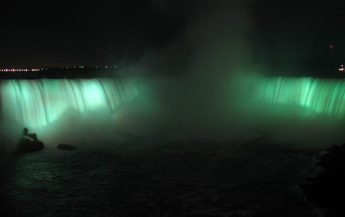 Reise nach Amerika: Niagara Fälle