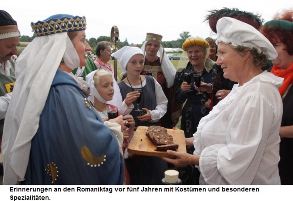Posaunenchor begleitet kaiserliches Gefolge bei Gerichtstag