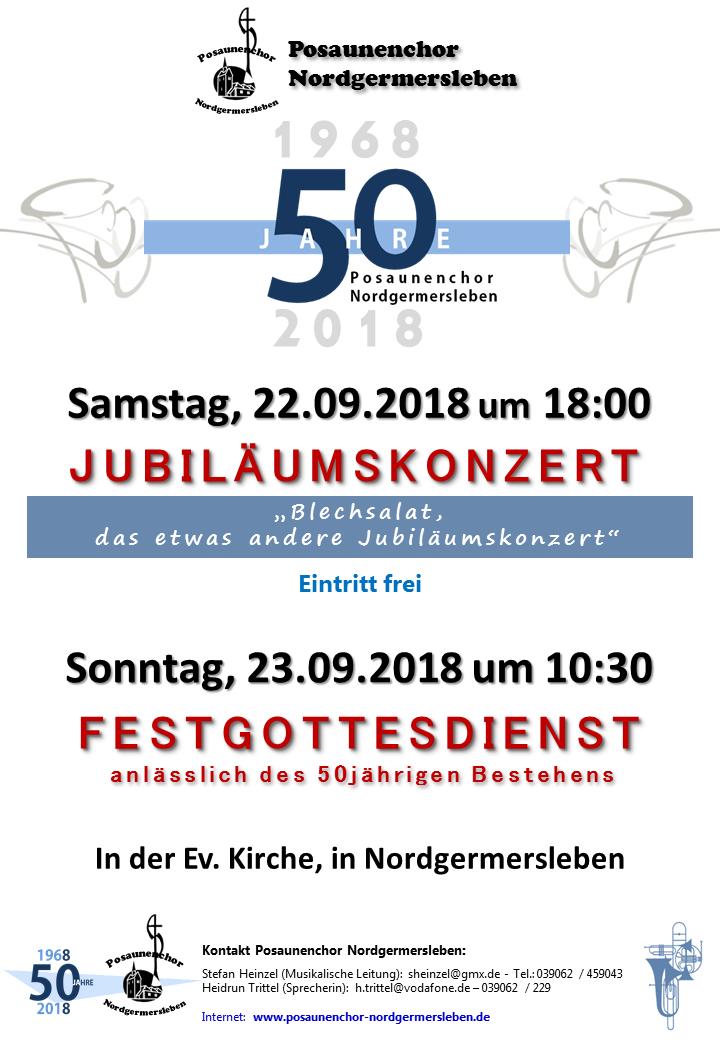 50 Jahre Posauenenchor