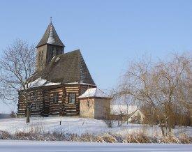 Foto der Schrotholzkirche